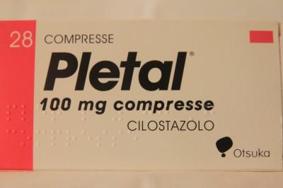 Купить плетал (цилостазол) 100 мг (pletal 100 mg) за 160 евро в.