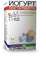 Йогурт baby postantibiotik инструкция